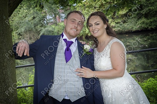 Micheala & Marc Hadley at The Stables Hotel, Walshaw