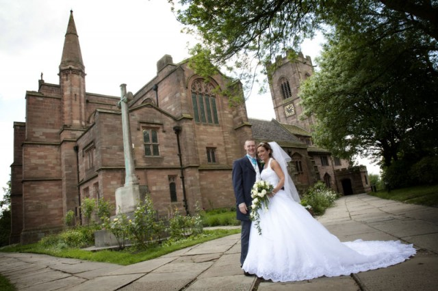 Wedding Photographer at St Marys Church, Prestwich