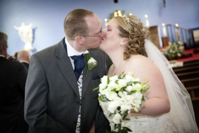 Wedding photography at Our Lady of Lourdes, Farnworth