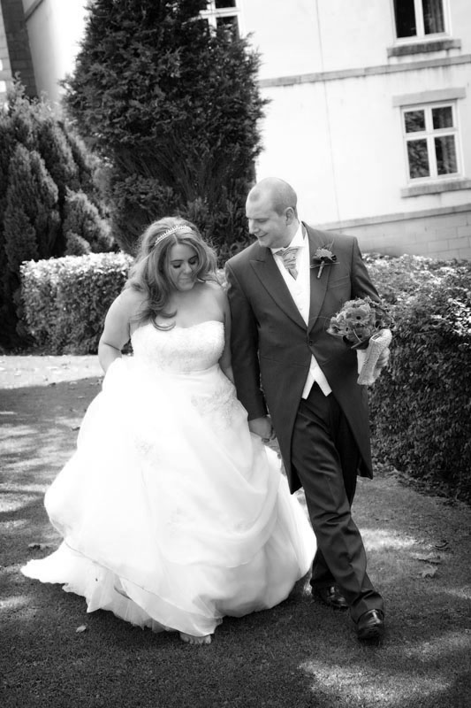 Relaxed wedding photography at The Dunkenhalgh Hotel