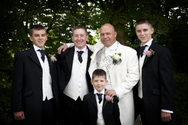 Andy and the Lads at The Bolholt Hotel, Walshaw