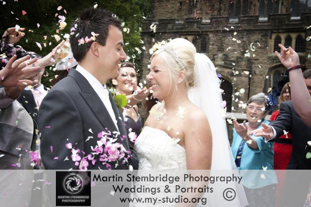 Fun Wedding Photography in Bolton