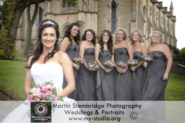 Wedding Photography at St Peters Church, Simmister