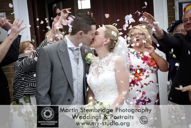 Fun Wedding Photography in Bury