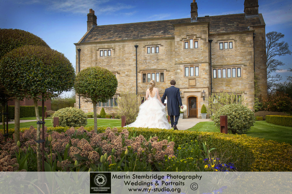 Wedding photography at Stanley House, Mellor